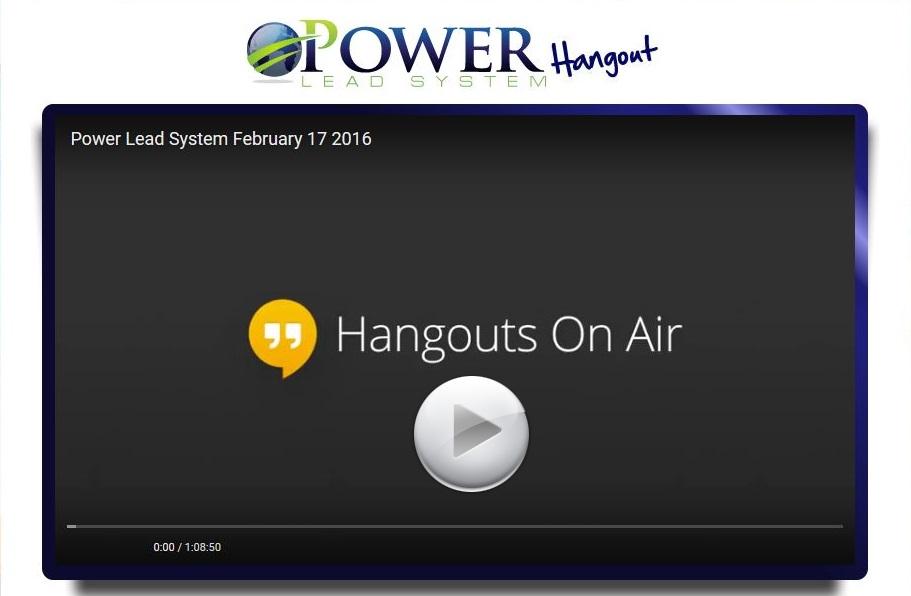 Hangouts/Live